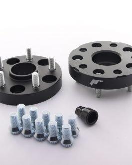 JRWA1 Adapters 25mm 5×120 72,6 72,6 Black