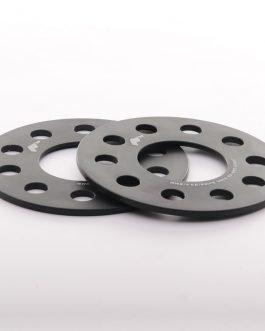 JRWS1 Spacers 5mm 5×120 72,6 Black