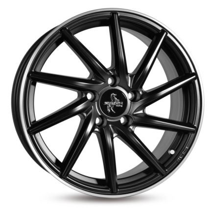 Keskin-Tuning KT17S Matt Black Lip Polish 7.5x17 ET: 45 - 5x114.3