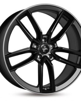 Keskin-Tuning KT21 Matt Black Lip Polish 7.5×17 ET: 45 – 5×114.3