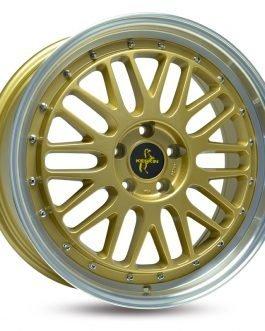Keskin-Tuning KT22 Gold Lip Polish 8.5×19 ET: 45 – 5×112