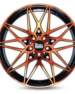 MAM B2 Black Front Orange 8.5×19 ET: 35 – 5x