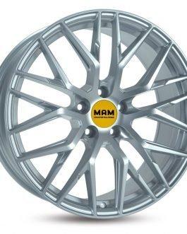 MAM RS4 Matt Silver Painted 8.5×20 ET: 45 – 5×108