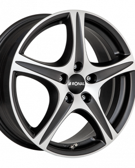 Ronal R56 MATT BLACK FACE-CUT 7.5×19 ET: 51 – 5×112