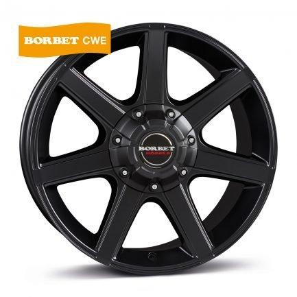 Borbet CWE black matt 7.0x16 ET: 30 - 6x139.7