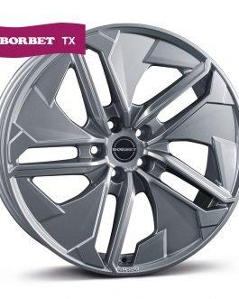 Borbet TX metal grey glossy 9.0×20 ET: 35 – 5×120
