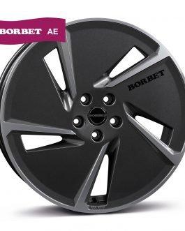 Borbet AE black polished 7.5×20 ET: 45 – 5×112