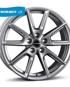 Borbet LX18 grey glossy 8×18 ET: 40 – 5×112