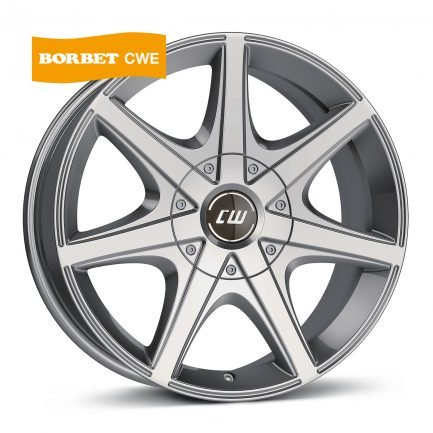 Borbet CWE mistral anthracite glossy polished 7x16 ET: 20 - 6x139.7