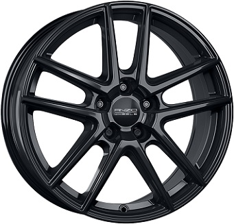 ANZIO SPLIT Gloss Black 7.5x18 ET: 49 - 5x114