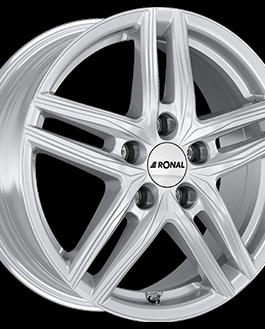 Ronal R65 Silver 6.5×16 ET: 40 – 5×100