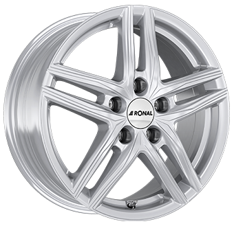 Ronal R65 Silver 6.5x16 ET: 40 - 5x100
