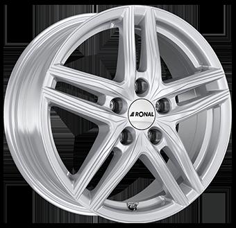 Ronal R65 Silver 7.0x18 ET: 51 - 5x112