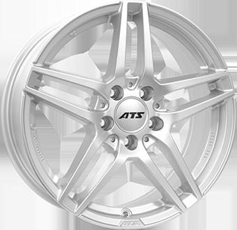 ATS MIZAR Silver 10.0x21 ET: 30 - 5x112