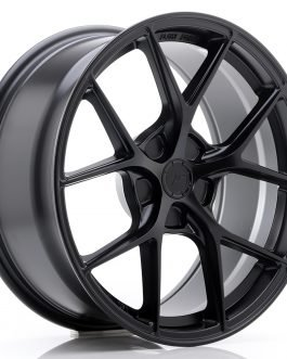 JR Wheels SL01 18×8 ET20-40 5H BLANK Matt Black