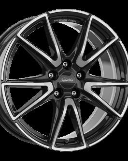 Speedline Corse SL6 Vettore JETBLACK FACE-CUT 8.5×19 ET: 50 – 5×112