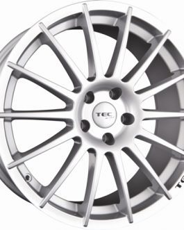 TEC Speedwheels AS2 Cristal silver CB: 72.5 7.5×17 ET: 45 – 5×114.3