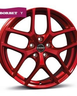 Borbet Y candy red 8×19 ET: 50 – 5×112