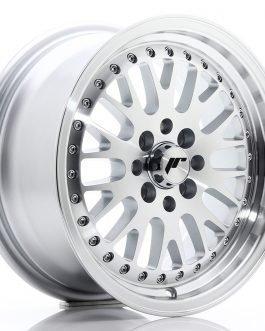 JR Wheels JR10 15×7 ET30 4×100/108 Mach Silver