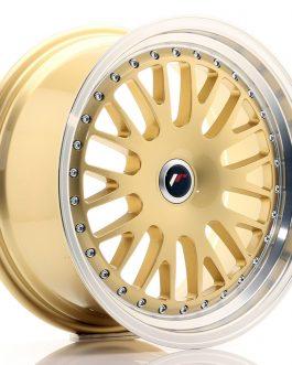 JR Wheels JR10 17×8 ET35 Blank Gold