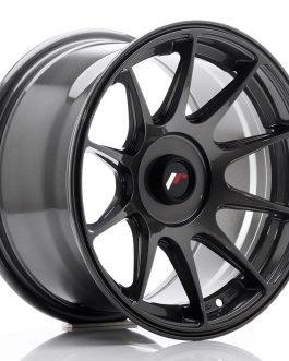 JR Wheels JR11 15×8 ET25 Blank Hyper Gray