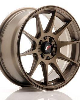 JR Wheels JR11 16×7 ET30 4×100/114 Matt Bronze