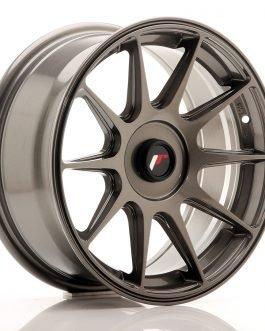 JR Wheels JR11 16×7 ET30 Blank Hyper Gray