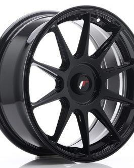 JR Wheels JR11 17×7,25 ET35-40 Blank Glossy Black