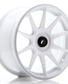 JR Wheels JR11 17×8,25 ET35 BLANK White