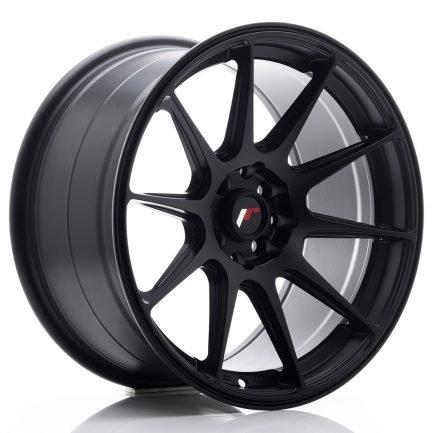 JAPAN RACING JR Wheels JR11 17x9 ET20 5x100/114 Matt Black 9.00x17