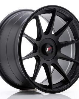 JR Wheels JR11 17×9 ET25-35 BLANK Matt Black