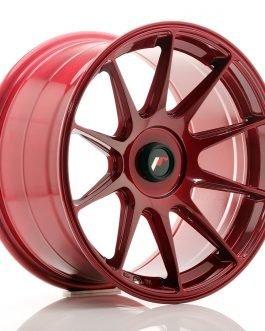 JR Wheels JR11 17×9 ET25-35 BLANK Platinum Red