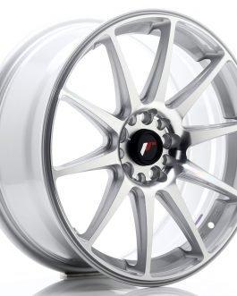 JR Wheels JR11 18×7,5 ET40 5×112/114 Silver Machined Face