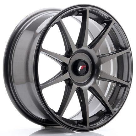 JAPAN RACING JR Wheels JR11 18x7,5 ET20-40 Blank Hyper Gray 7.50x18