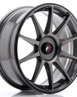 JR Wheels JR11 18×7,5 ET35-40 Blank Hyper Gray