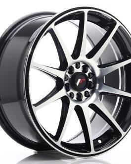 JR Wheels JR11 18×8,5 ET40 5×112/114 Gloss Black Machined Face