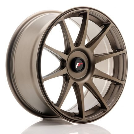JAPAN RACING JR Wheels JR11 18x8,5 ET35-40 BLANK Dark Bronz 8.50x18