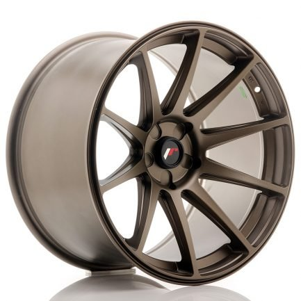 JAPAN RACING JR Wheels JR11 19x11 ET25 5H BLANK Bronze 11.00x19