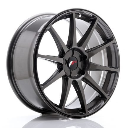 JAPAN RACING JR Wheels JR11 19x8,5 ET25-40 5H Blank Hyper Gray 8.50x19
