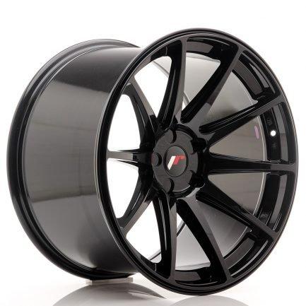 JAPAN RACING JR Wheels JR11 20x12 ET20-42 5H BLANK Gloss Black 12.00x20