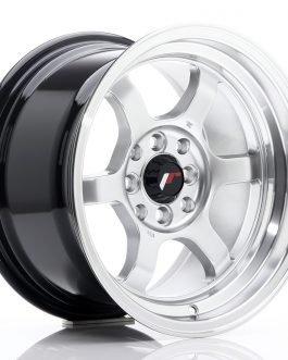 JR Wheels JR12 15×8,5 ET13 4×100/114 Hyper Silver w/Machined Lip