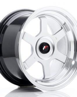 JR Wheels JR12 16×9 ET20 BLANK Hyper Silver w/Machined Lip