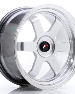JR Wheels JR12 17×8 ET35 BLANK Hyper Silver w/Machined Lip