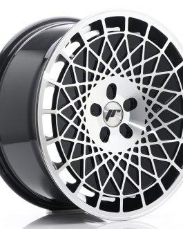 JR Wheels JR14 18×8,5 ET35-40 5H BLANK Gloss Black w/Machined Face