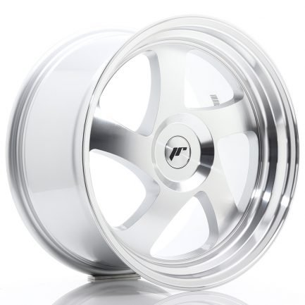 JAPAN RACING JR Wheels JR15 18x9,5 ET20-40 BLANK Silver Machined Face 9.50x18