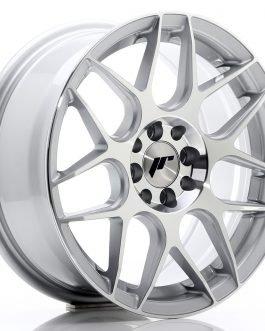 JR Wheels JR18 16×7 ET35 4×100/114,3 Silver Machined Face