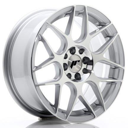 JAPAN RACING JR Wheels JR18 16x7 ET25 4x100/108 Silver Machined Face 7.00x16