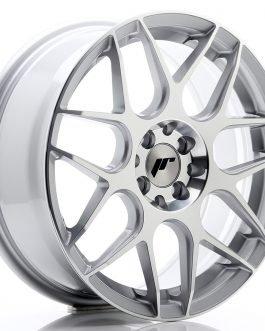 JR Wheels JR18 17×7 ET40 5×100/114 Silver Machined Face