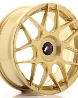 JR Wheels JR18 17×7 ET20-40 BLANK Gold