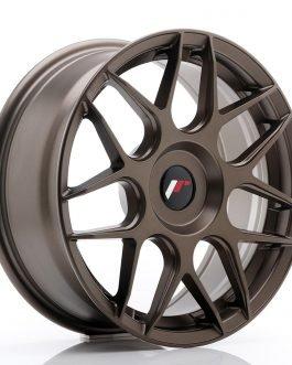 JR Wheels JR18 17×7 ET20-40 BLANK Matt Bronze